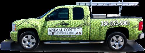 Animal Service Truck